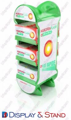 Прилавок для товара N1023 из ламината для продуктов питания в центр