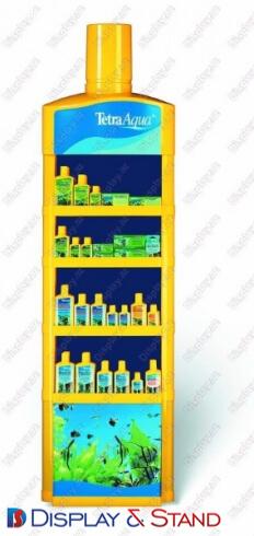 Пристенная мебель для рекламы N106 из пластика для рекламы пристенный