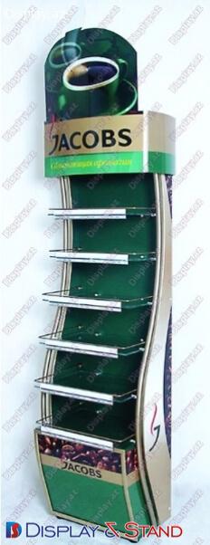 İçkilər üçün metaldan hazırlanan divara quraşdırılmış vitrinlər N1094