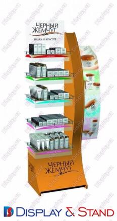 Стенд в центр N1153 из ламината для парфюмерии