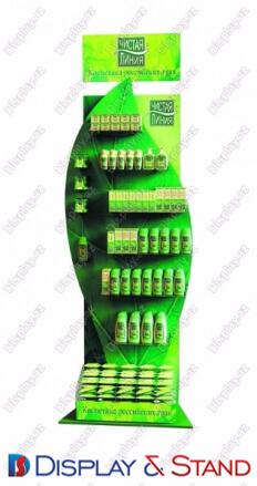 Пристенная мебель N1157 из ламината для парфюмерии