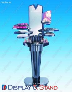 Пристенная мебель для BTL N115 из ламината для парфюмерии и рекламы в центр