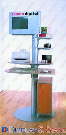 Прилавок для товара N168 из ламината для канцелярских товаров и техники в центр