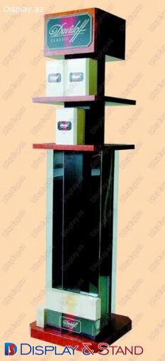 Прилавок для товара N171 из ламината для косметики в центр