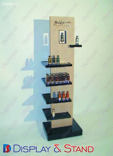 Пристенная мебель N316 из ламината для напитков в центр