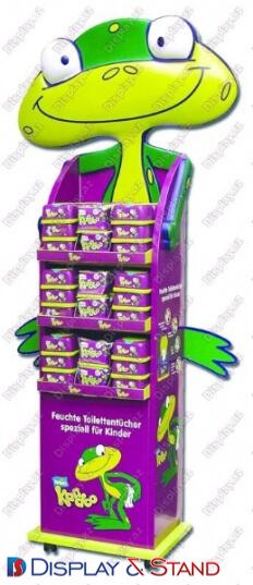 Прилавок для товара для промоакции N353 из ламината для продуктов питания в центр