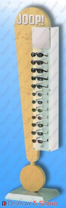 Прилавок для товара для BTL N45 из ламината для рекламы пристенный