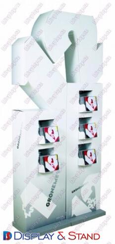 Mərkəzdə plastikdən hazırlanmış reklam ticarət stendi N613
