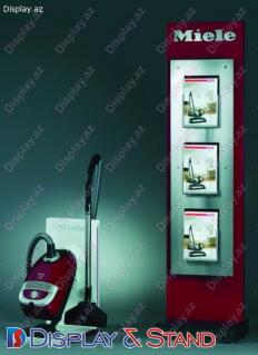 Прилавок для товара для промоакции N641 из ламината для рекламы в центр