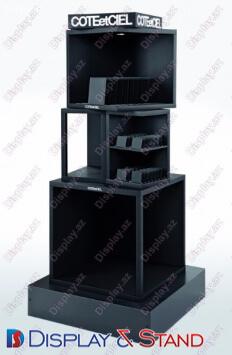 Пристенная мебель N675 из метала для выпивки и оборудования в центр