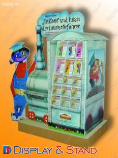 Стенд напольный N84 из картона для прилавок для печатную продукцию и канцелярских товаров пристенный и в центр