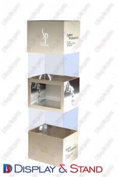 Пристенная мебель для BTL N854 из прозрачные для продуктов питания парфюмерии, алкоголя, сладостей и промо товаров пристенный
