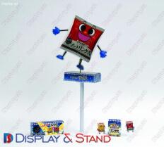 Пристенная мебель для промо-акций N902 из акрила для продуктов питания напитков и конфет