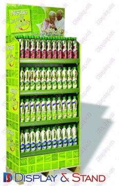 Пристенная мебель N942 из профильной трубы для продуктов питания и алкоголя пристенный