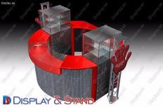 Прилавок для товара для BTL N961 из пластика для промо товаров и оборудования в центр