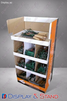 Kosmetika və texnologiyalar üçün plastikdən hazırlanmış divara quraşdırılan ticarət stendi N964