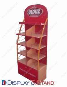 Пристенная мебель для сладостей DS1202 из ламината и оргстекла