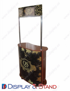 Дисплей-стол для BTL DS1209 из профильной трубы для рекламы