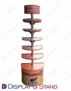 Пристенная мебель цилиндрическая DS1214 из проволоки для продуктов питания