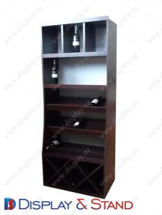 Торговая стойка DS1230 из ламината для алкоголя