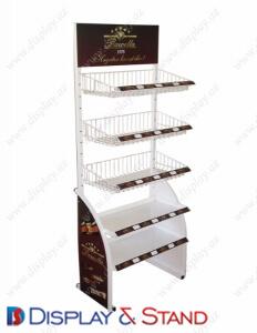 Пристенная мебель из проволки S1246 из профильной трубы для сладостей