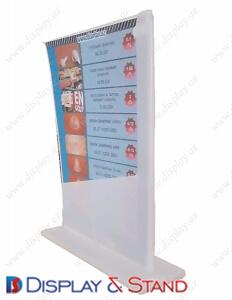 Прилавок для товара для промо-акций DS1285 из метала для рекламы в центр