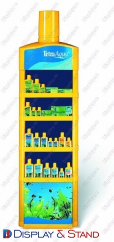Reklam üçün plastikdən hazırlanmış divar vitrini N106