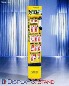 Торговая стойка для BTL N111 из профильной трубы для промо товаров в центр
