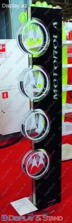 Торговая стойка для BTL N1166 из ламината для рекламы в центр