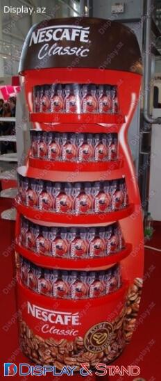 Прилавок для товара диспенсер N1185 из ламината для продуктов питания в центр