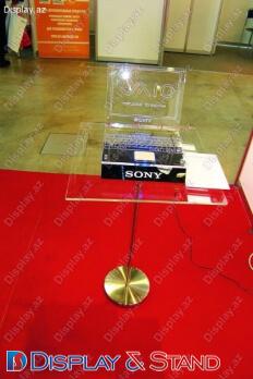 Прилавок для товара для BTL N1194 из метала для промо товаров и техники в центр
