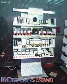 Торговая стойка для рекламы N122 из ламината для косметики и рекламы