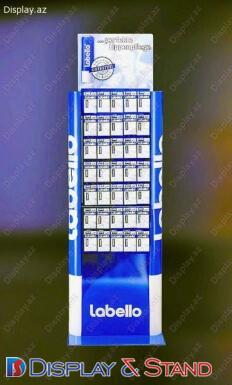 Торговая стойка N15 из ламината для канцелярских товаров в центр