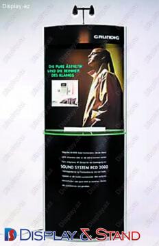 Прилавок для товара для BTL N228 из ламината для рекламы в центр