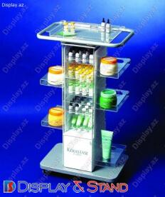 Прилавок для товара N332 из ламината для продуктов питания в центр