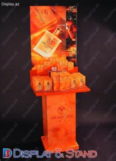 Торговая стойка для BTL N241 из ламината для косметики в центр