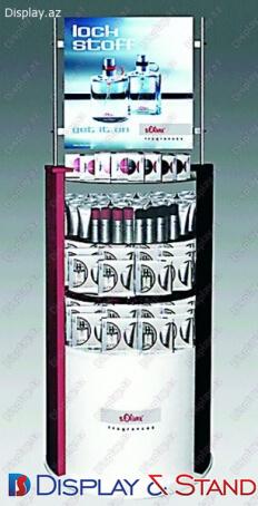 Пристенная мебель для BTL N255 из ламината для парфюмерии и рекламы в центр