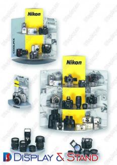 Прилавок для товара N289 из ламината для парфюмерии каталоги и оборудования в центр