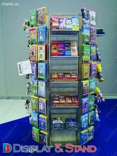 Торговая стойка для BTL N294 из ламината для буклетов и журналов в центр
