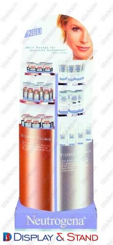 Прилавок для товара для рекламы N303 из ламината для продуктов питания в центр