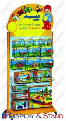 Прилавок для товара N343 из ламината для книг и канцелярских товаров в центр