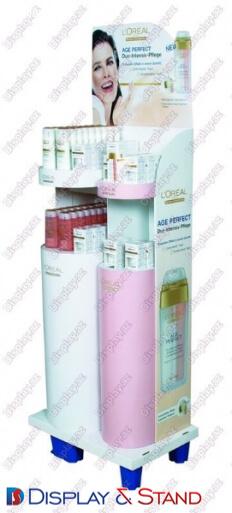 Торговая стойка для BTL N349 из ламината для парфюмерии и рекламы в центр