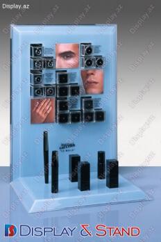 Ətriyyat və reklam avadanlıqları üçün laminat kassa stendi N352