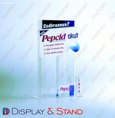 Reklam materialları və reklam paraziti üçün akrildən hazırlanmış reklam stendi N42