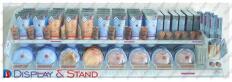 Promo-aksiya,kosmetika və promosyon məhsulları üçün plastikdən hazırlanmış asma stend N487