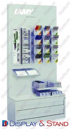 Пристенная мебель для рекламы N529 из метала для рекламы паразит