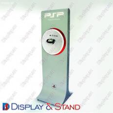 Торговая стойка для промо-акций N543 из проволоки для рекламы в центр