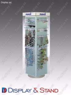 BTL üçün metaldan hazırlanmış reklam parazit divar displeyi N562