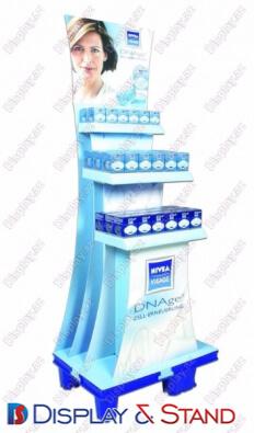 Прилавок для товара N578 из ламината для парфюмерии в центр