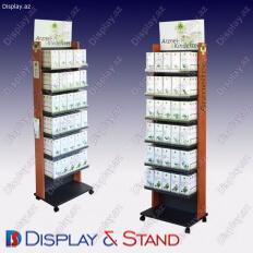 Пристенная мебель N601 из ламината для канцелярских товаров в центр